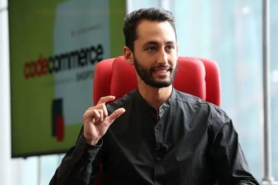 Jonahtan Neman speaks at Code Commerce