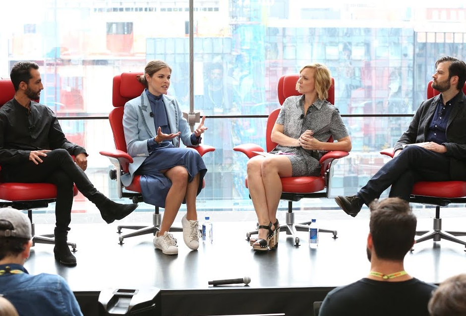 Emily Weiss speaks at Code Commerce
